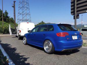 Audi S3 Sportback/アシ交換